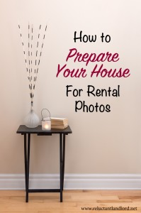 Prepare Your House for Rental Photos
