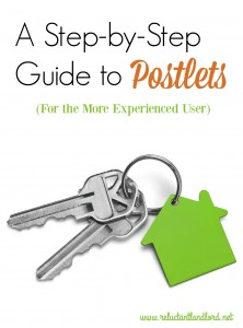 A Step-by-Step Guide to Postlets (For the More Experienced User)
